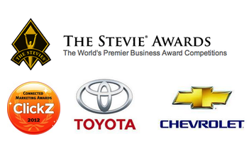 Stevie and ClickZ Award